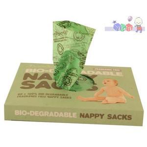 Biodegradowalne worki na zużyte pieluszki marki Beaming Baby - zdjęcie nr 1 - Bangla