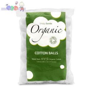 Cotton Balls, Waciki organiczne marki Beaming Baby - zdjęcie nr 1 - Bangla