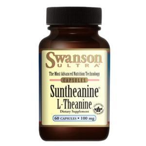 Suntheanine, L-Theanine marki Swanson - zdjęcie nr 1 - Bangla