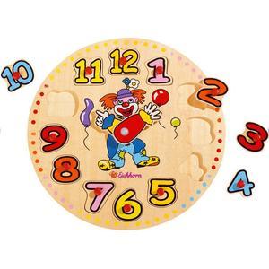Puzzle Zegar Edukacyjny, Różne wzory marki Eichhorn - zdjęcie nr 1 - Bangla