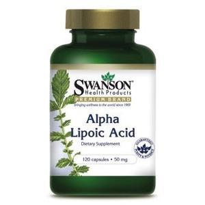 Alpha Lipoic Acid, Kwas alfa liponowy 50 mg marki Swanson - zdjęcie nr 1 - Bangla