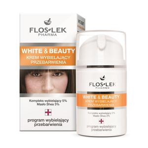 White & Beauty, Krem wybielający przebarwienia marki FlosLek - zdjęcie nr 1 - Bangla