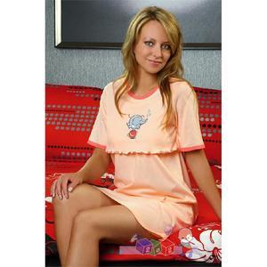 Koszula dla kobiet karmiących R164 marki Regina - zdjęcie nr 1 - Bangla
