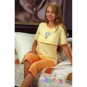 Piżama dla mam karmiących R651 marki Regina - zdjęcie nr 1 - Bangla