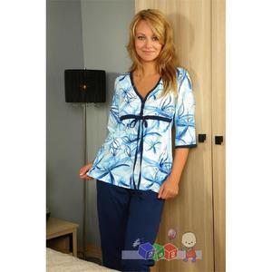 Piżama dla mam karmiących R653 marki Regina - zdjęcie nr 1 - Bangla