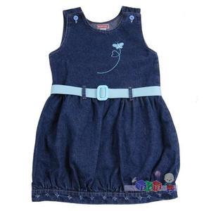 Sukienka jeansowa z paskiem, 14032 marki Bartex - zdjęcie nr 1 - Bangla