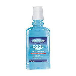 Active Oral Care, Cool mint, Płyn do płukania ust marki Beauty Formulas - zdjęcie nr 1 - Bangla
