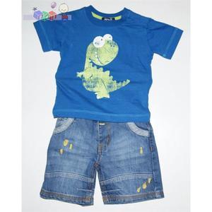 Dino 8, Komplet koszulka + spodenki marki Minoti - zdjęcie nr 1 - Bangla