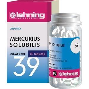 Mercurius solubilis Complexe Nr 39 marki Lehning - zdjęcie nr 1 - Bangla