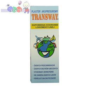 Transway, Plastry zapobiegające chorobie lokomocyjnej marki Laboratories Accore - zdjęcie nr 1 - Bangla
