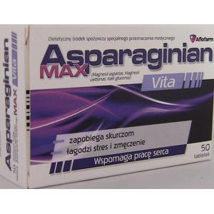Asparaginian Max Vita marki Aflofarm - zdjęcie nr 1 - Bangla