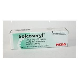 Solcoseryl, Pasta do stosowania w jamie ustnej marki Meda - zdjęcie nr 1 - Bangla