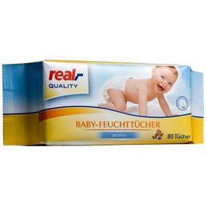 Chusteczki nawilżane dla dzieci i niemowląt wersja do 2012 roku marki Real - zdjęcie nr 1 - Bangla