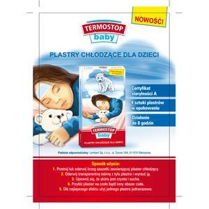 Termostop Baby, Plastry chłodzące marki Lambert - zdjęcie nr 1 - Bangla