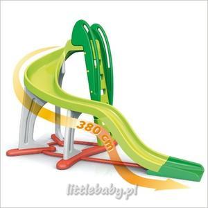 Berchet Zjeżdżalnia Floralie U Turn Twister 380 cm, 310138 marki Smoby - zdjęcie nr 1 - Bangla