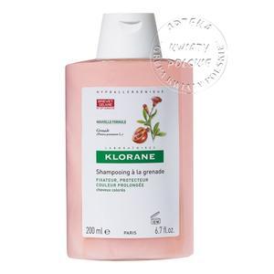 Szampon na bazie wyciągu z granatu do włosów farbowanych marki Klorane - zdjęcie nr 1 - Bangla