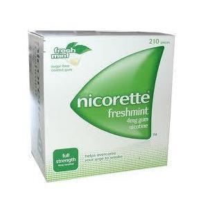 Nicorette Freshmint, guma 4mg / 2mg marki Pfizer - zdjęcie nr 1 - Bangla