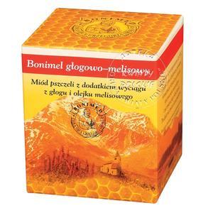 Bonimel Głogowo-Melisowy, miód pszczeli marki Bonimed - zdjęcie nr 1 - Bangla
