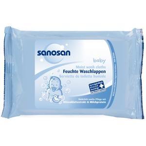 Baby, Chusteczki nawilżane marki Sanosan - zdjęcie nr 1 - Bangla