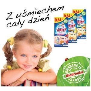 Mleczny Start, różne smaki marki Biedronka - zdjęcie nr 1 - Bangla