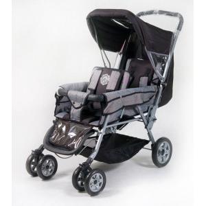 Tandem Basic, Wózek bliźniaczy i dla rodzeństwa marki Kees - zdjęcie nr 1 - Bangla