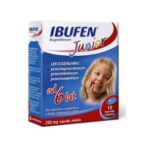 Ibufen Junior, kapsułki marki Polpharma - zdjęcie nr 1 - Bangla