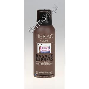 Homme Rasage Express Mousse Hydratante Anti-Irritations, Nawilżająca pianka do golenia marki Lierac - zdjęcie nr 1 - Bangla