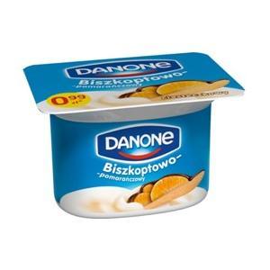 Biszkoptowo-Pomarańczowy, jogurt marki Danone - zdjęcie nr 1 - Bangla