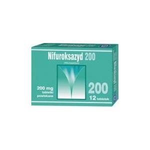 Nifuroksazyd, tabletki lub syrop marki różni producenci - zdjęcie nr 1 - Bangla