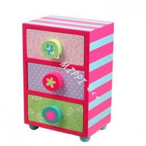 Szkatułka z szufladami kwiatek 3988 marki Nino & Ideas - zdjęcie nr 1 - Bangla
