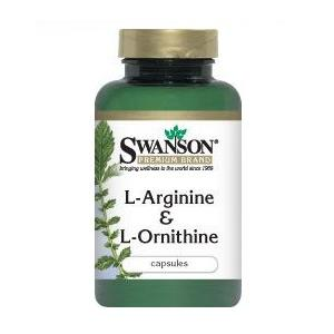 L-Arginine & L-Ornithine marki Swanson - zdjęcie nr 1 - Bangla