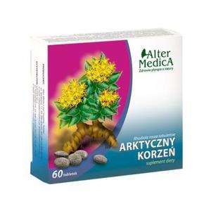 Arktyczny Korzeń, tabletki marki Alter Medica - zdjęcie nr 1 - Bangla