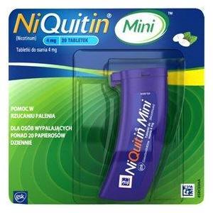 Niquitin Mini, tabletki do ssania marki GSK Glaxo Smith Kline - zdjęcie nr 1 - Bangla