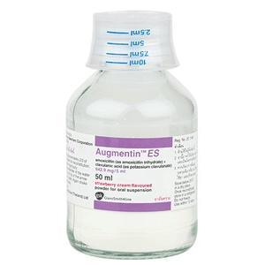 Augmentin ES 600 mg+42,9 mg/ml proszek do sporządzania zawiesiny doustnej marki GSK Glaxo Smith Kline - zdjęcie nr 1 - Bangla