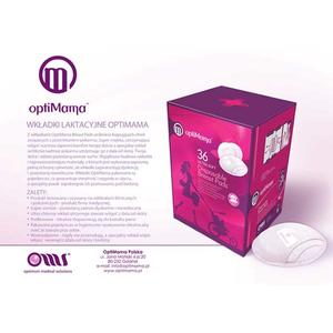Ultra Soft Disposable Breast Pads, Super chłonne i mega cienkie marki OptiMama - zdjęcie nr 1 - Bangla