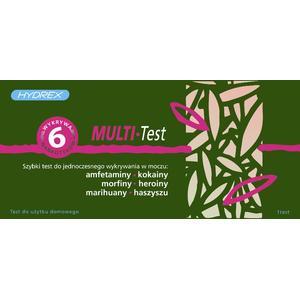 Multi-test, Test do wykrywania narkotyków w moczu marki Hydrex - zdjęcie nr 1 - Bangla