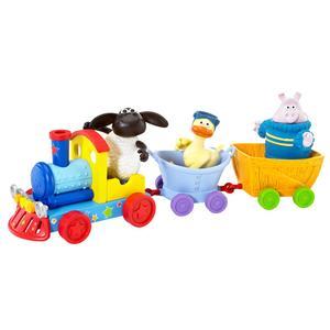 Timmy Play Train, Kolejka z dźwiękiem + 3 figurki marki Timmy Time - zdjęcie nr 1 - Bangla