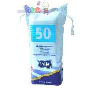 Cotton, Duże płatki kosmetyczne kwadratowe marki Bella - zdjęcie nr 1 - Bangla