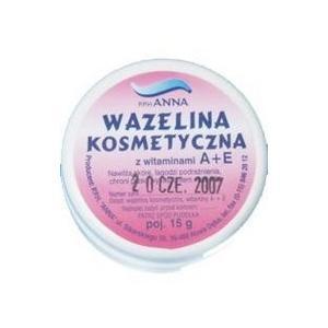Wazelina kosmetyczna z witaminami A+E marki Anna - zdjęcie nr 1 - Bangla