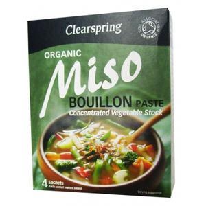 Organic Miso Bouillon Paste, Bulion Miso z warzywami marki Clearspring - zdjęcie nr 1 - Bangla
