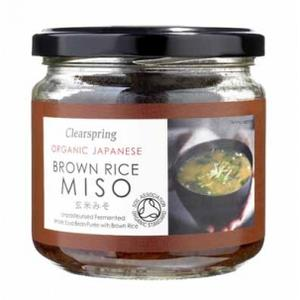 Organic Japanese Brown Rice Miso Paste, Pasta Miso ryżowe marki Clearspring - zdjęcie nr 1 - Bangla