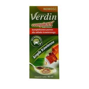 Verdin Complexx, krople marki USP Zdrowie - zdjęcie nr 1 - Bangla
