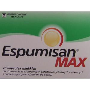 Espumisan MAX, kapsułki marki Berlin Chemie/Menarini Polska Sp. z o. o. - zdjęcie nr 1 - Bangla
