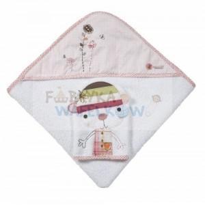 Ręcznik z kapturkiem Scrapbook Girl/Scrapbook Boy marki Mamas & Papas - zdjęcie nr 1 - Bangla
