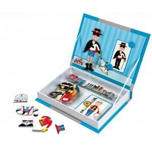 Magnetyczny kuferek, różne zestawy marki Janod - zdjęcie nr 1 - Bangla