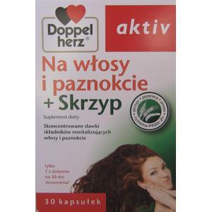 Aktiv Na włosy i paznokcie + skrzyp marki Doppelherz - zdjęcie nr 1 - Bangla