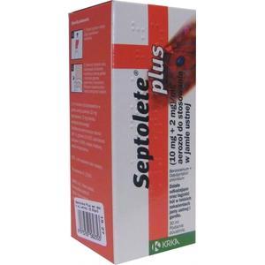 Septolete Plus, aerozol marki Krka - zdjęcie nr 1 - Bangla