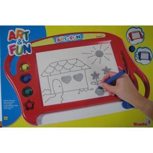 Art & Fun, Magiczna tablica do rysowania 0277 marki Simba - zdjęcie nr 1 - Bangla