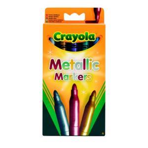 Metallic Markers, Flamastry metaliczne, 7552 marki Crayola - zdjęcie nr 1 - Bangla