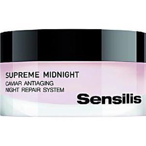 Supreme Midnight, Caviar Antiaging Night Repair System, Regenerujący system zapobiegający starzeniu się skóry na noc marki Sensilis - zdjęcie nr 1 - Bangla